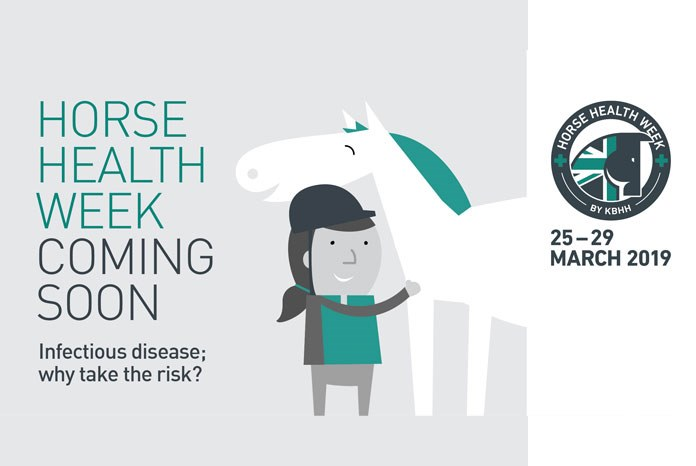 MSD Animal Health has announced that Horse Health Week, which runs from 25th to 29th March 2019, will focus on helping owners and yards understand infection risk.
