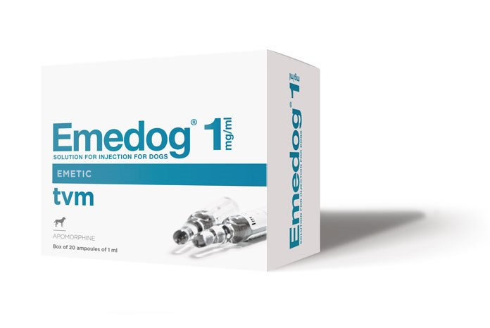 TVM UK has announced the launch of a bumper-sized pack of Emedog, its apomorphine emetic, in preparation for the Christmas season.