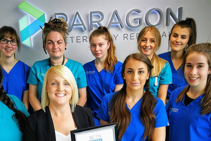 Paragon Veterinary Referrals in West Yorkshire has been give an 'outstanding' rating in four different RCVS Practice Standards Scheme Awards: Team and Professional Responsibility, Diagnostic Service, Inpatient Service and Emergency and Critical Care Service.