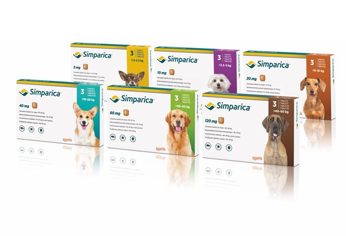 Zoetis has announced that Simparica, its once-monthly oral treatment for flea, tick and mite infestations in dogs, is now licensed for Otodectes Cynotis and Demodex Canis in addition to Sarcoptes Scabiei.