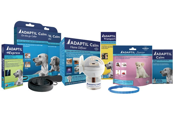 Ceva Animal Health has re-branded its Adaptil range in a way designed to more clearly convey the benefits of each product to dog owners.