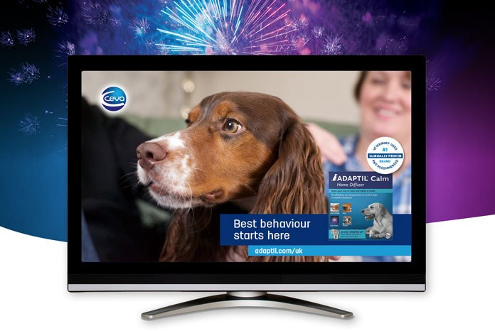 Ceva Animal Health has launched a month-long TV advertising campaign for its veterinary behaviour product, Adaptil,
