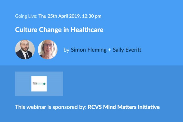Culture Change In Healthcare is presented by Simon Fleming, a trauma and orthopaedic registrar who has a special interest in combating bullying, undermining and harassment in human healthcare, and Sally Everitt MRCVS, the ex Head of Scientific Policy at BSAVA.