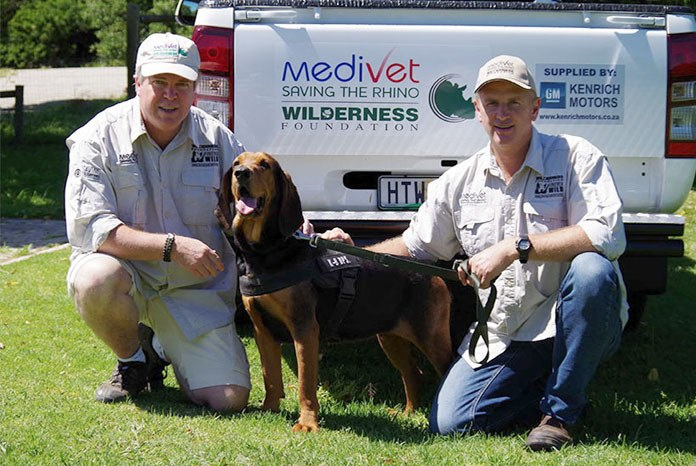 Medivet reports that Ella, the tracker dog funded by the group to help protect endangered African rhinos from poachers, has enjoyed a successful first year on the job.