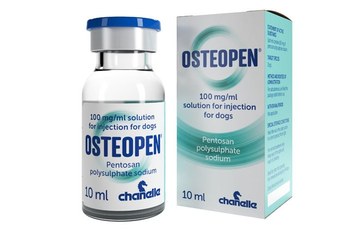 Chanelle has launched Osteopen (pentosan polysulphate sodium) for the treatment of arthritis and degenerative joint disease in dogs.