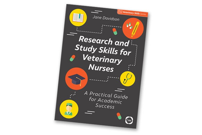 5m has published Research and Study Skills for Veterinary Nurses, a new book to help student veterinary nurses to help them through their course, by Jane Davidson RVN.