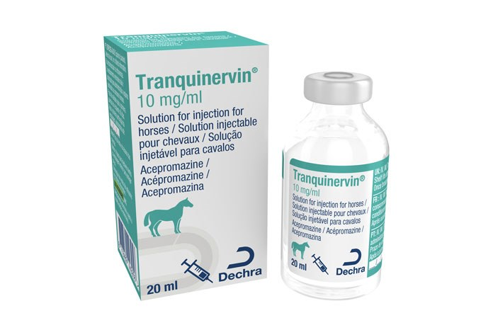 Dechra Veterinary Products has launched Tranquinervin, an injectable acepromazine for horses.