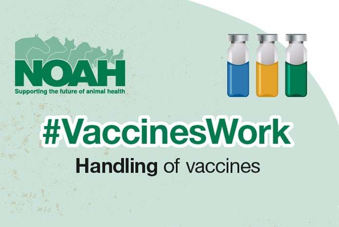 The National Office of Animal Health (NOAH) is calling on vet practices to support the #VaccinesWork campaign.