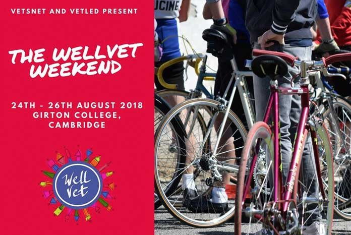 Vetsnet and VetLed have announced that the first WellVet Weekend, an event designed to offer veterinary surgeons a chance to recharge, refresh and re-energise, will take place at Girton College, Cambridge, on 24th-26th August 2018.