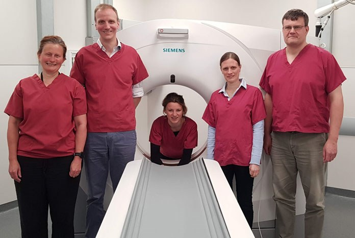 Solihull-based Willows Referral Service is showing off it's new toy, a £400,000 state-of-the-art Siemens Somatom go.All CT scanner, believed to be the first in the profession.